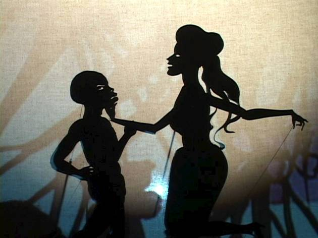Kara Walker (Still from: Fall From Grace, Miss Pipi's Blue Tale, 2011)