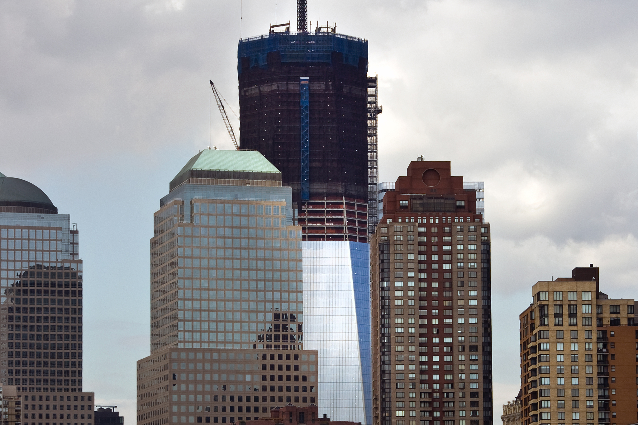 Parallel Stories: The World Trade Center and Battery Park City