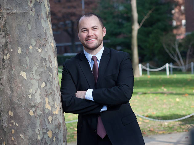 (Photograph: Courtesy the Corey Johnson campaign)