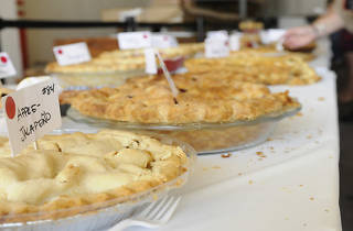Pies from the 4th Annual Good Food Pie Contest.