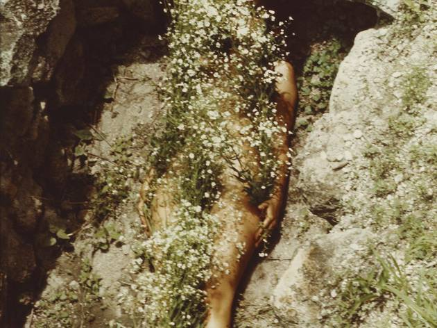 Ana Mendieta ('Imagen de Yagul', 1973)