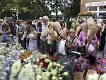 Columbia Road and Flower Market, Shoreditch, London, UK