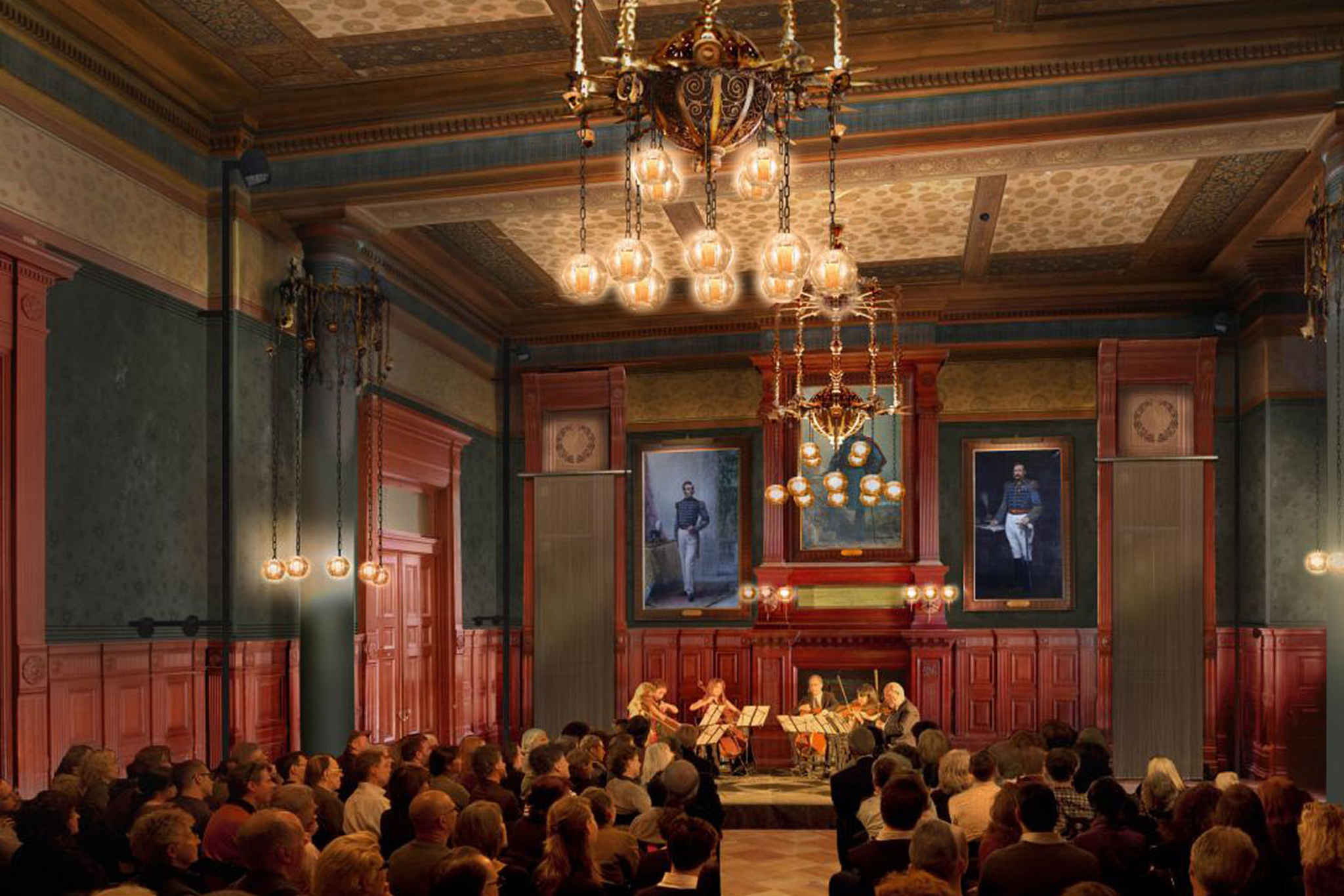 Arts & Culture: Park Avenue Armory's Board of Officers Room