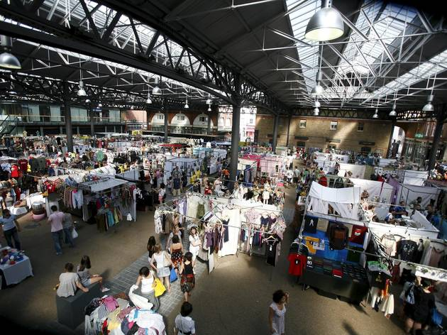 Spitalfields Market Shopping In Spitalfields London