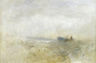 JMW Turner ('A Wreck, with Fishing Boats', 1840)