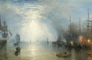 JMW Turner ('Keelmen heaving in Coal by Moonlight', 1835)