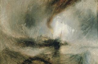 JMW Turner ('Snow Storm – Steam-boat off a Harbour's Mouth', 1842)