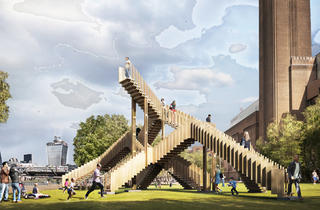 (Endless Stair at Tate Modern)