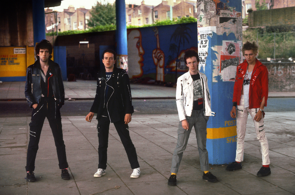 The Clash under the Westway, 1977