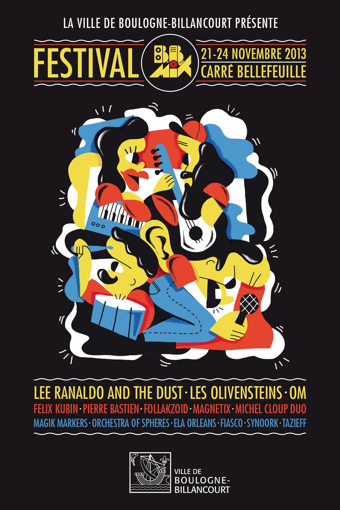 Le festival BBMIX 2013