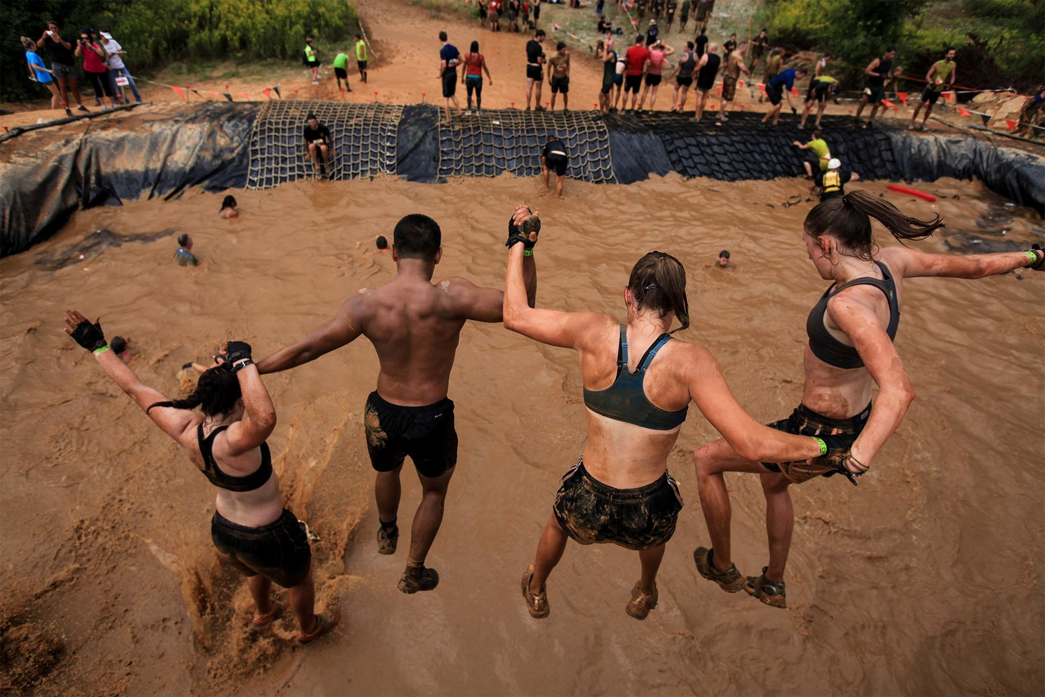 Tough Mudder obstacle course race