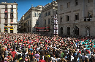 Mercè 2015: Human towers shows