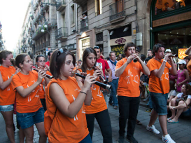 Mercè 2013: Morning of the 'grallers'