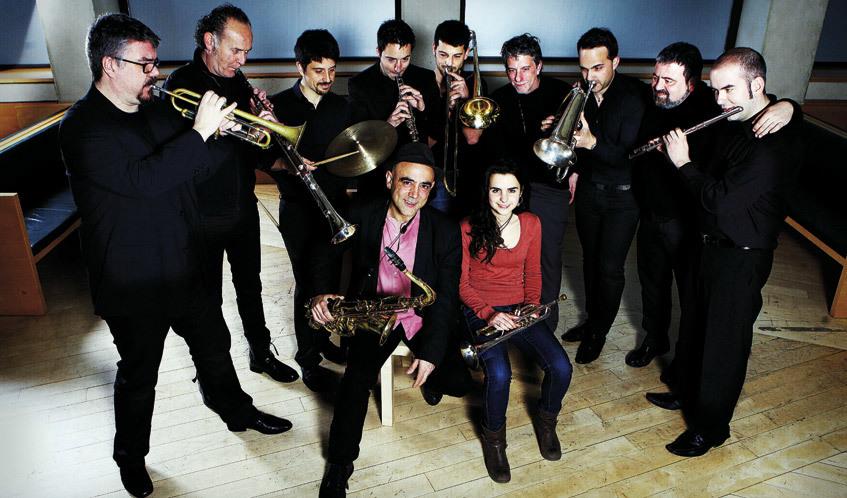Andre Motis i Joan Chamorro amb New Catalan Ensemble