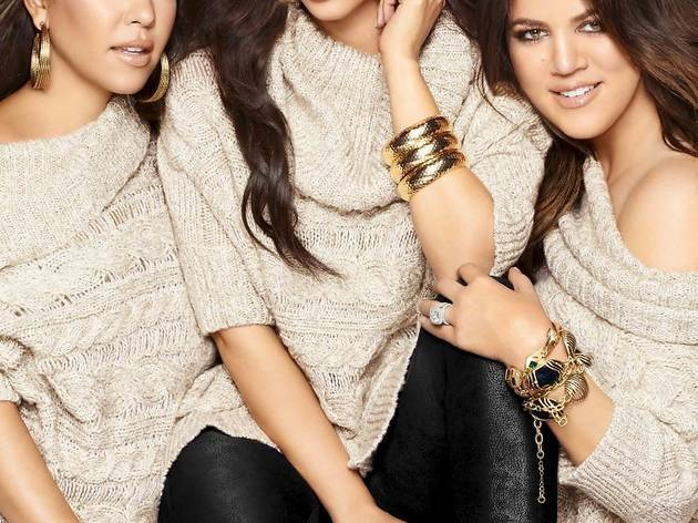 Kardashians for Lipsy Talking Shop, Press Image, 2013
