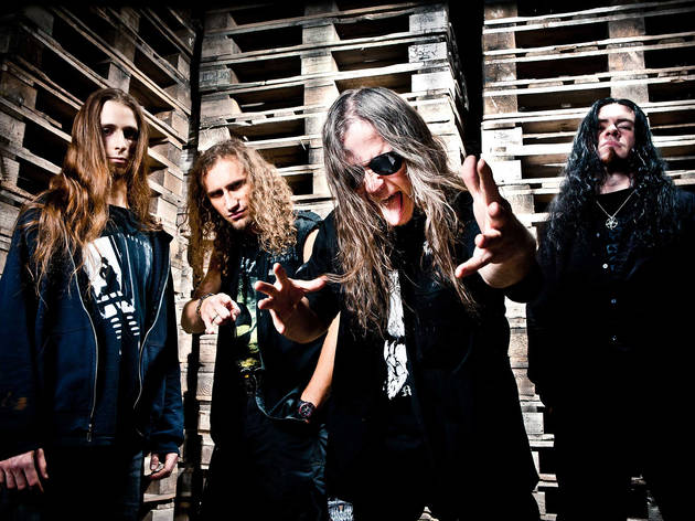 Vader + Vital Remains + Sacrificial Slaughter + Execration + Extremely Rotten + Mutant Supremacy