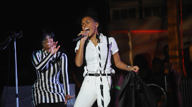 Janelle Monáe and Target celebrate the release of The Electric Lady at Pier 84