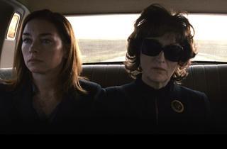 Julianne Nicholson and Meryl Streep in August: Osage County