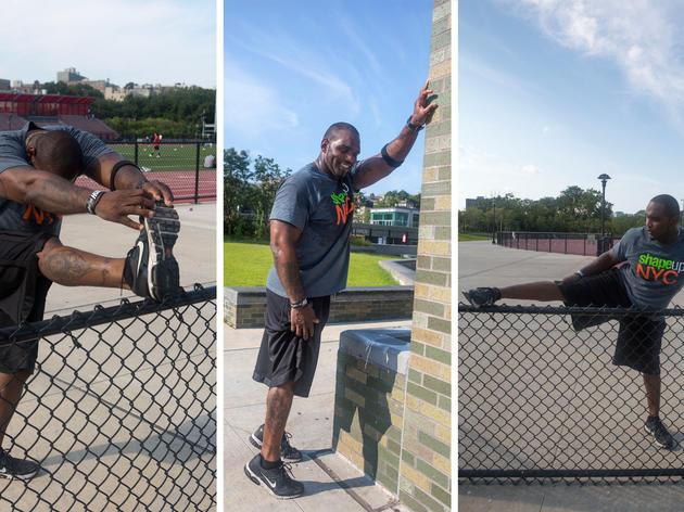 Shape Up NYC Fitness Trainer Ryan Treasure