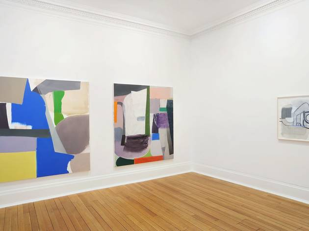 Amy Sillman (Exhibition view)