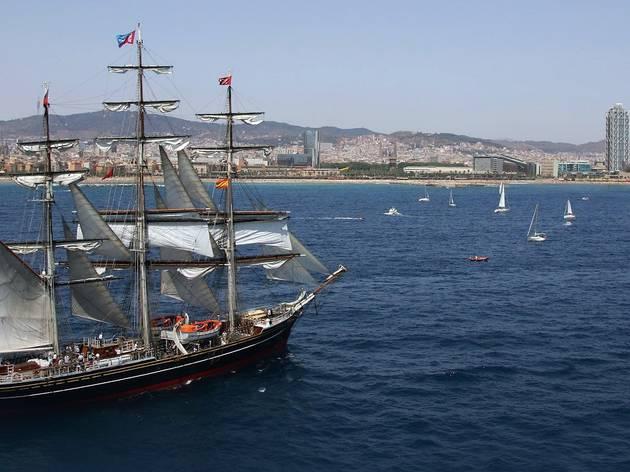 Mercè 2013: Mediterranean Tall Ships Regatta
