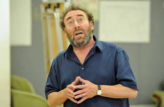 Antony Sher, Hysteria rehearsal