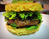 The ramen burger is coming to Dassara for one month