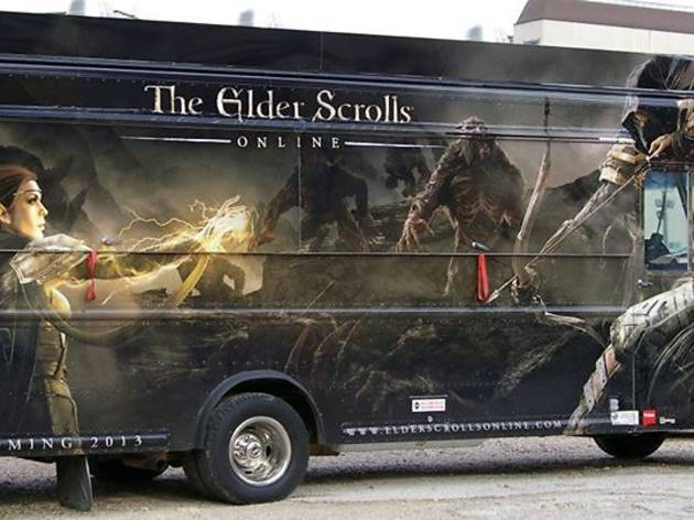 The Elder Scrolls Online Food Truck