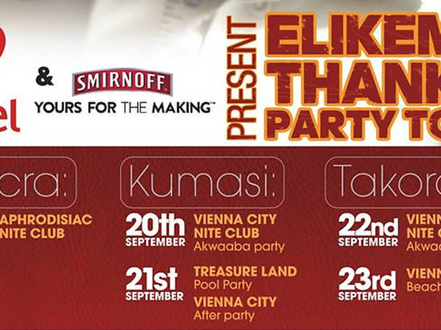 Elikem's Thank You Party Tour, Accra, Ghana