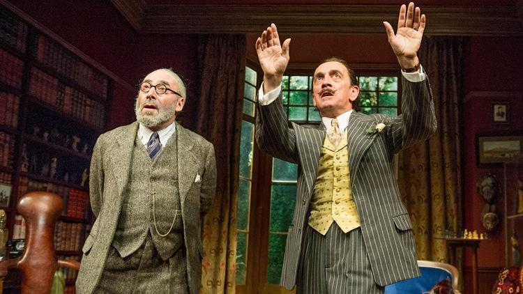 Hysteria by Terry Johnson performed at the Hampstead Theatre