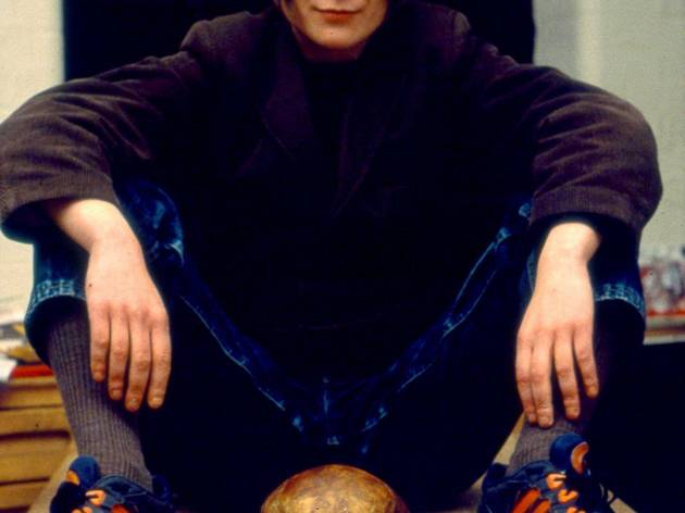 Sarah Lucas ('Self-Portrait with Skull', 1996)