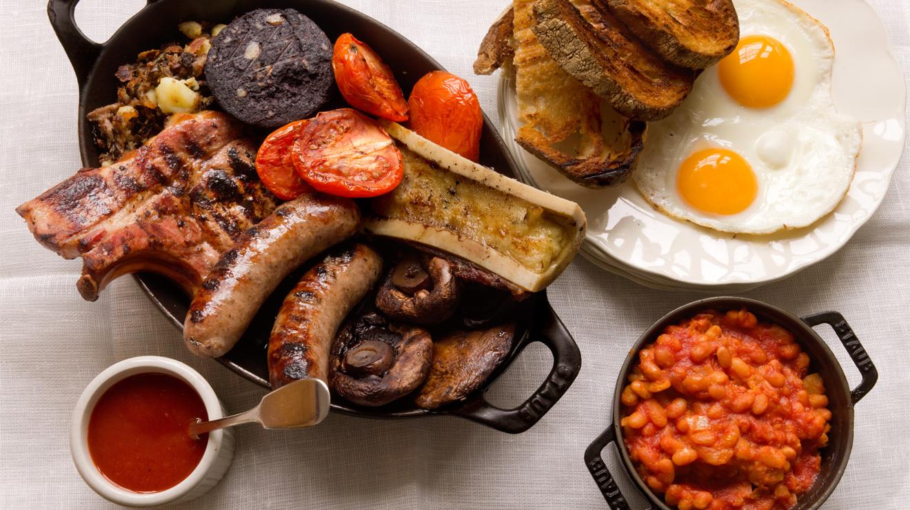 традиционная еда в лондоне нее хороший
