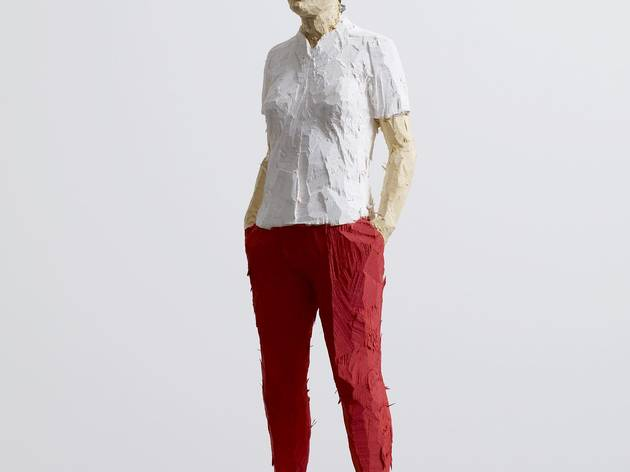 Stephan Balkenhol ('Woman with Red Trousers', 2013)