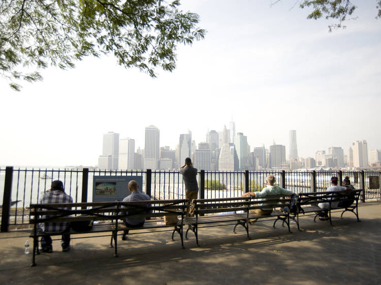 Brooklyn Heights and Brooklyn Promenade