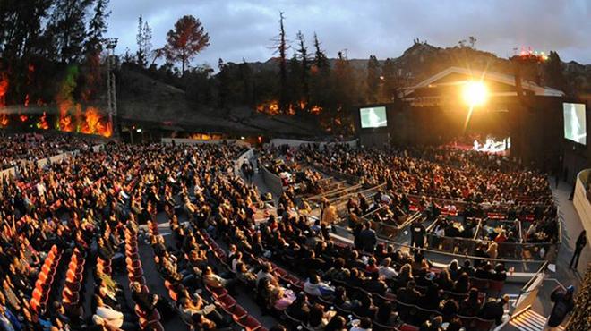 greek theatre staging