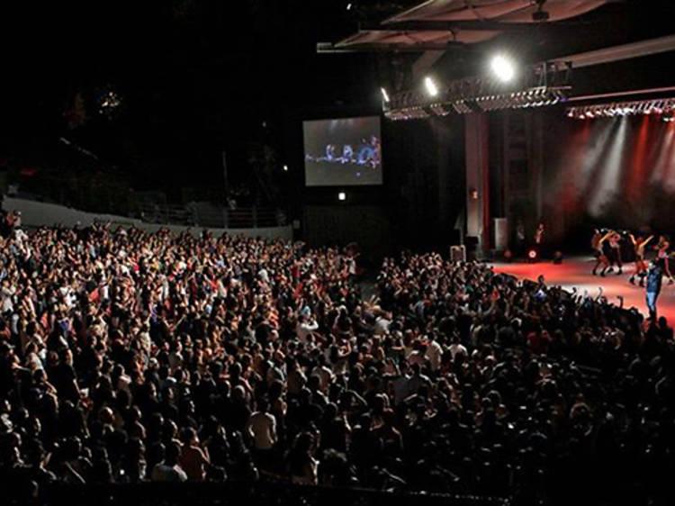 Greek Theatre's season (canceled)