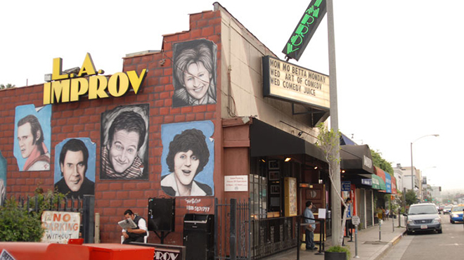 Best comedy venue: Hollywood Improv