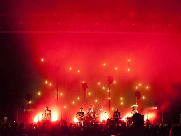 Local Natives at the Greak Theatre