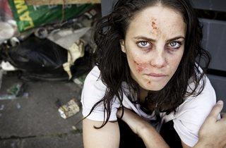 Kathryn Prescott  ('Kaya Scodelario')