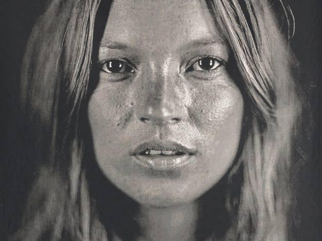 Kate Moss (©Chuck Close)