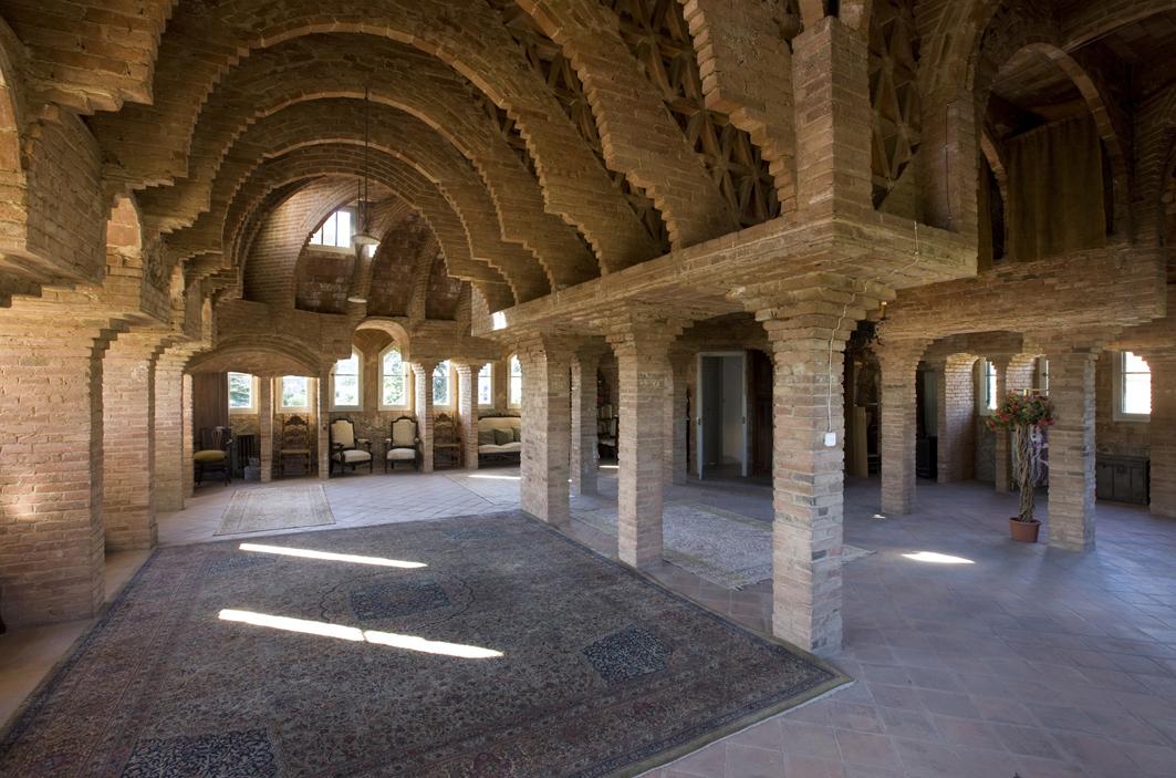 Sala dels maons, Torre Bellesguard, Barcelona