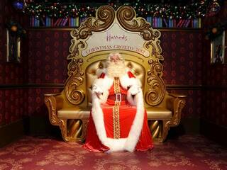 Santa's grottos in London