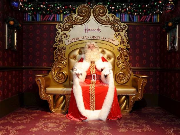 Santa's grottos in London