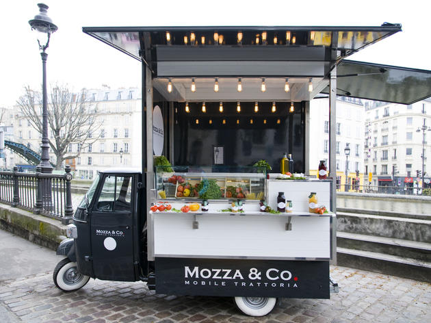 Mozza & Co • Le food truck italien