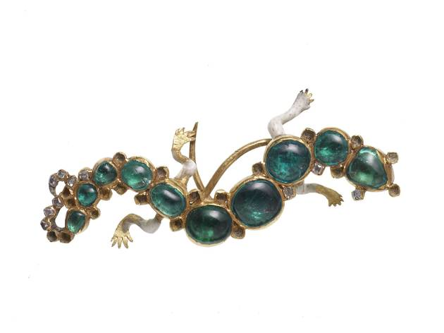 Salamander Brooch (© Museum of London)