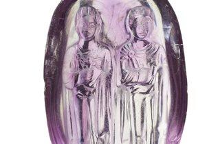 Carved Byzantine Amethyst (© Museum of London)