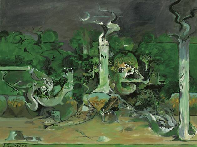 Graham Sutherland ('Forest and River', 1971)