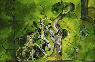 Graham Sutherland ('Green Tree Forms', 1978)