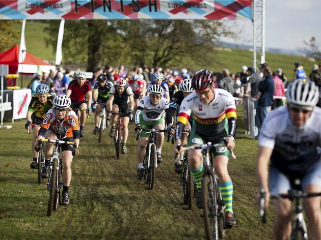 Half-term: Rapha SuperCross Cycling Event