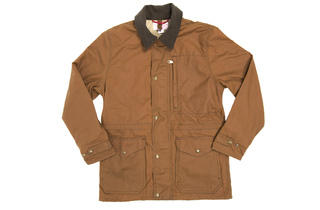 Filson waxed-canvas jacket, $300, at Hatchet Outdoor Supply Co.